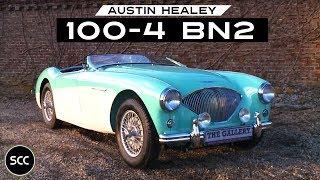 Austin Healey 100-4 BN2 1955 - Modest test drive - Engine sound   SCC TV