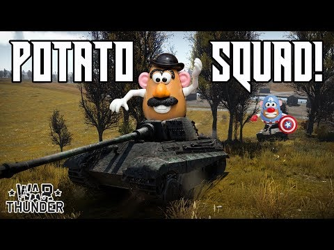 Potato Squad! Part 2 - German Units War Thunder Gameplay/Comedy Outtakes