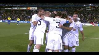 Clint Dempsey 1-0 - USA v Brazil - Confederations Cup Final 2009