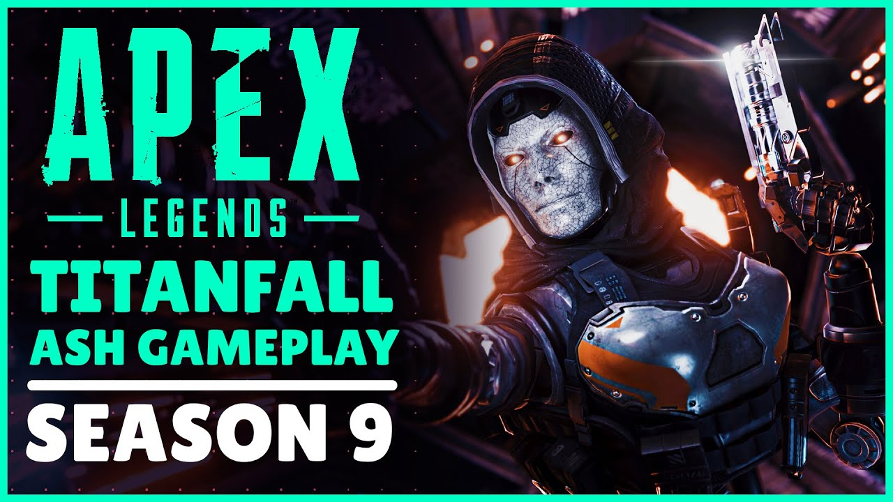 Titanfall S Ash Coming To Apex Legends Season 9 Youtube