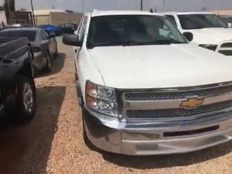 Used 2013 Chevrolet Silverado Crew Cab For Sale in Oklahoma
