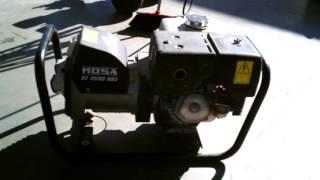 видео Mosa GE 12000 HBS/GS -  бензогенератор   10.4 кВт 230/380В