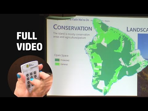Hawaii County General Plan Meeting In Hilo (Aug. 23, 2016)