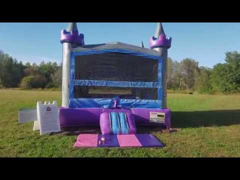 Castle bounce house rental | Crazy Monkey Inc| Erie PA| Marble Castle Bouncer