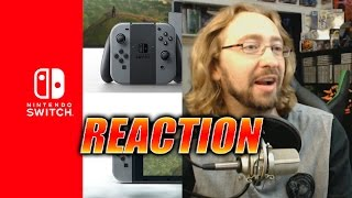 max reacts nintendo switch reveal trailer