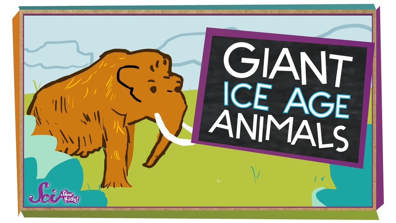 5 Giant Ice Age Animals   Natural History for Kids