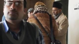 MTA Journal - AFD in der Moschee, Huzoor in Dänemark