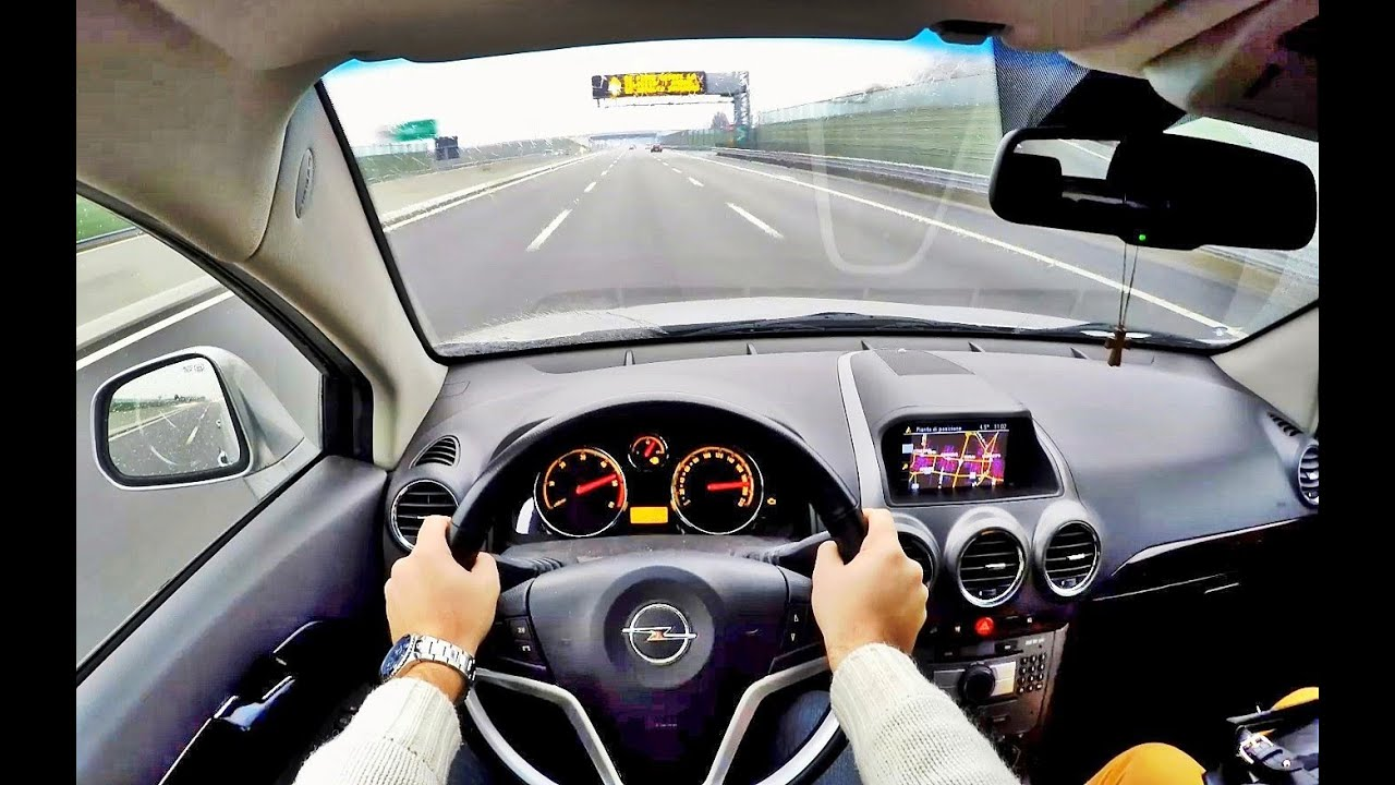 Jaguar F TYPE S Convertible 380hp POV test drive GoPro