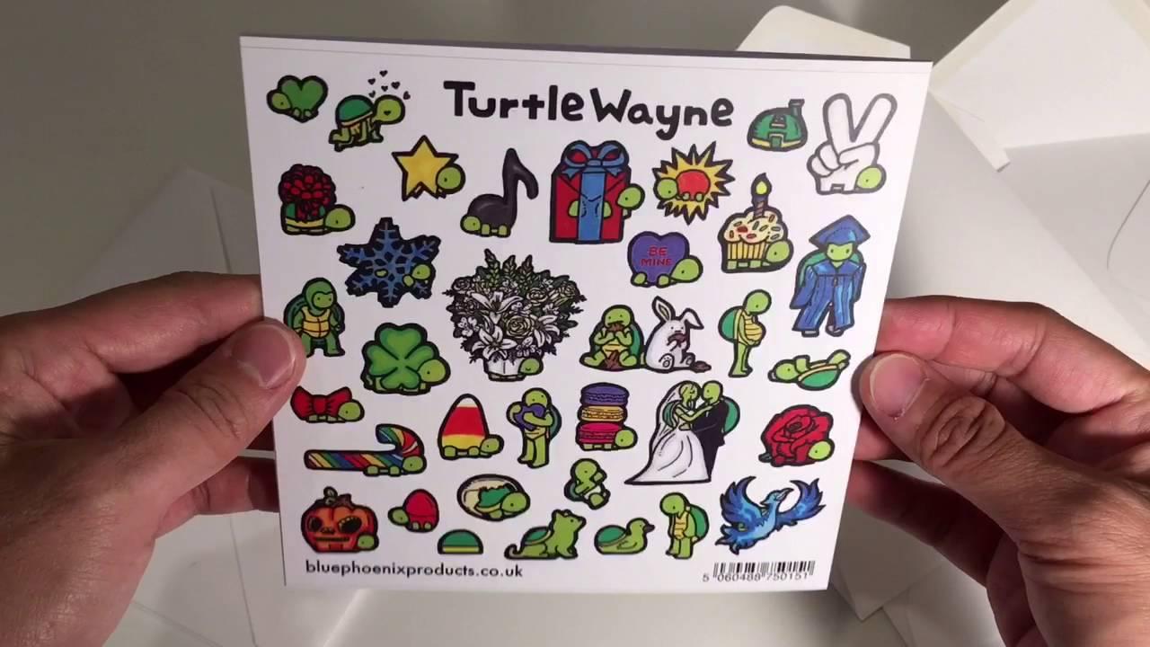 Turtle Wayne Greeting Cards At Blue Phoenix Uk Youtube