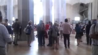 Саграда Фамилия(Видео внутри Саграды Фамилии., 2012-09-23T16:55:54.000Z)