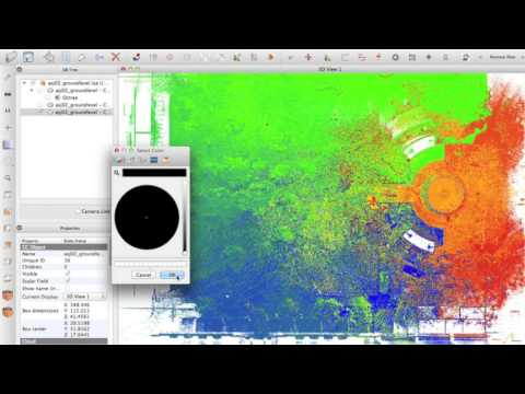 Cloud Compare Tutorial - Making nice maps, sections and colourful pictures