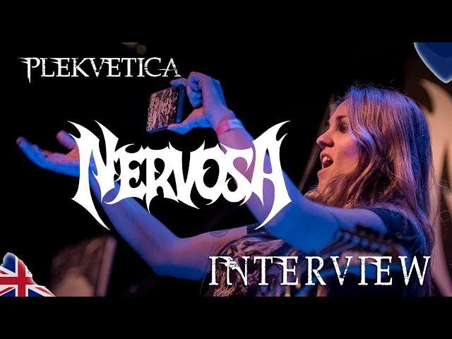 [Interview] Prika Amaral von Nervosa (2019) | Thrash Metal