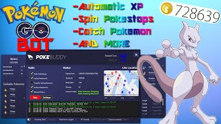 EASY POKEMON GO BOT HACK! PokeBuddy AUTOMATIC XP & LEVEL