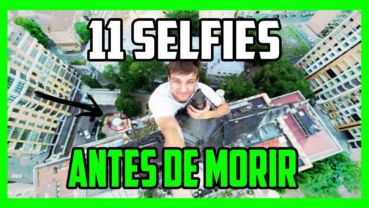 selfies tomadas por lo que precede de morir