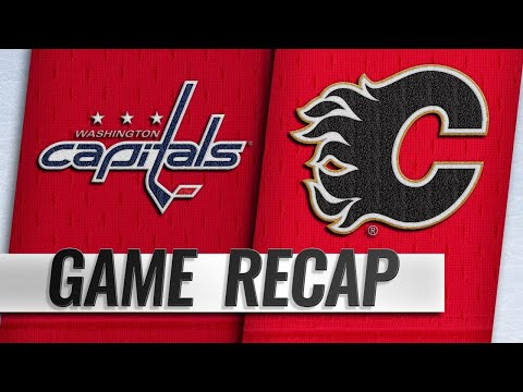 Capitals down Flames in SO for Copley's first NHL win