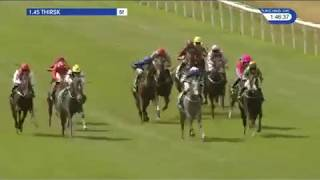 HEARTSTRING The 2-y-o filly.  Maiden Race at Thirsk 04/08/2018