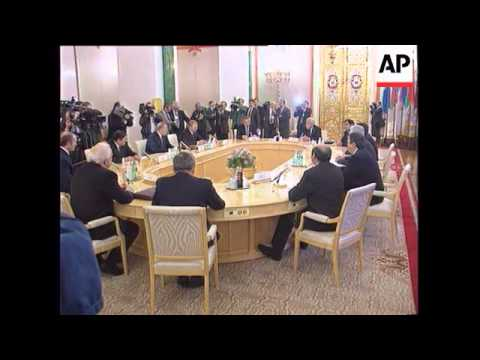 Russia - CIS Summit Meeting