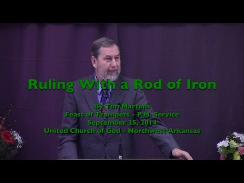 Ruling With a Rod of Iron