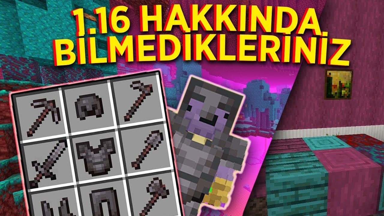 Minecraft 1.16 Güncellemesi Hakkında Bilmedikleriniz | Snapshot 20w06a