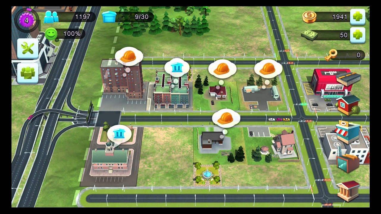 Let's Test - Sim City - BuildIT (Mobile