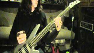 Manowar Guyana Bass cover by Danny G  with (backing track I made)