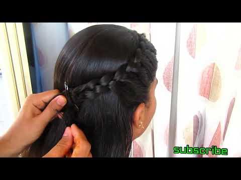 Simple Side Braid Hairstyle 2020