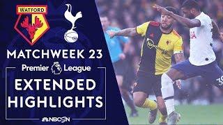 Watford v. Tottenham | PREMIER LEAGUE HIGHLIGHTS | 1/18/2020 | NBC Sports