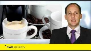 NWB Steuer-TV | Heißgetränke aus Automaten