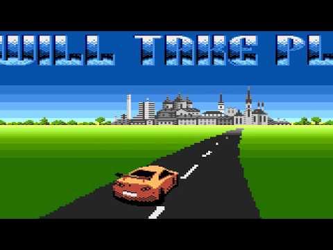 Road - Atari 8-bit demo/invitro