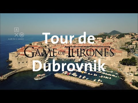 Las locaciones de Game of Thrones en Dubrovnik 4K | Alan por el mundo Croacia #2
