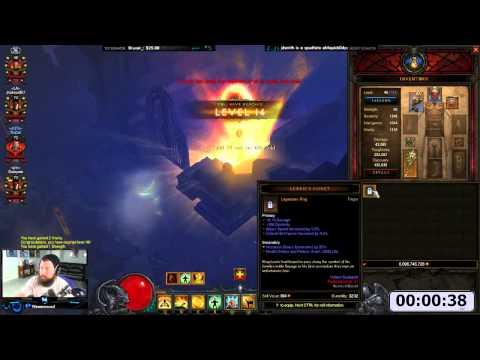 [Diablo 3] 1-70 in 1 Minute-ish | Moo Moo, Fastest Leveling Method