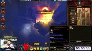 [Diablo 3] 1-70 in 1 Minute-ish | Moo Moo, Fastest Leveling Me…