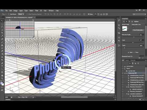 How To Use 3D In Photoshop CS6