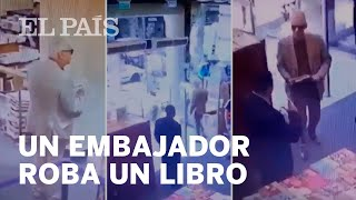 El EMBAJADOR de MÉXICO ROBA un LIBRO en ARGENTINA