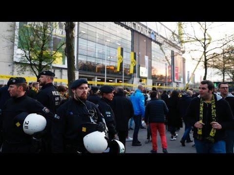 Explosion near Dortmund soccer team bus