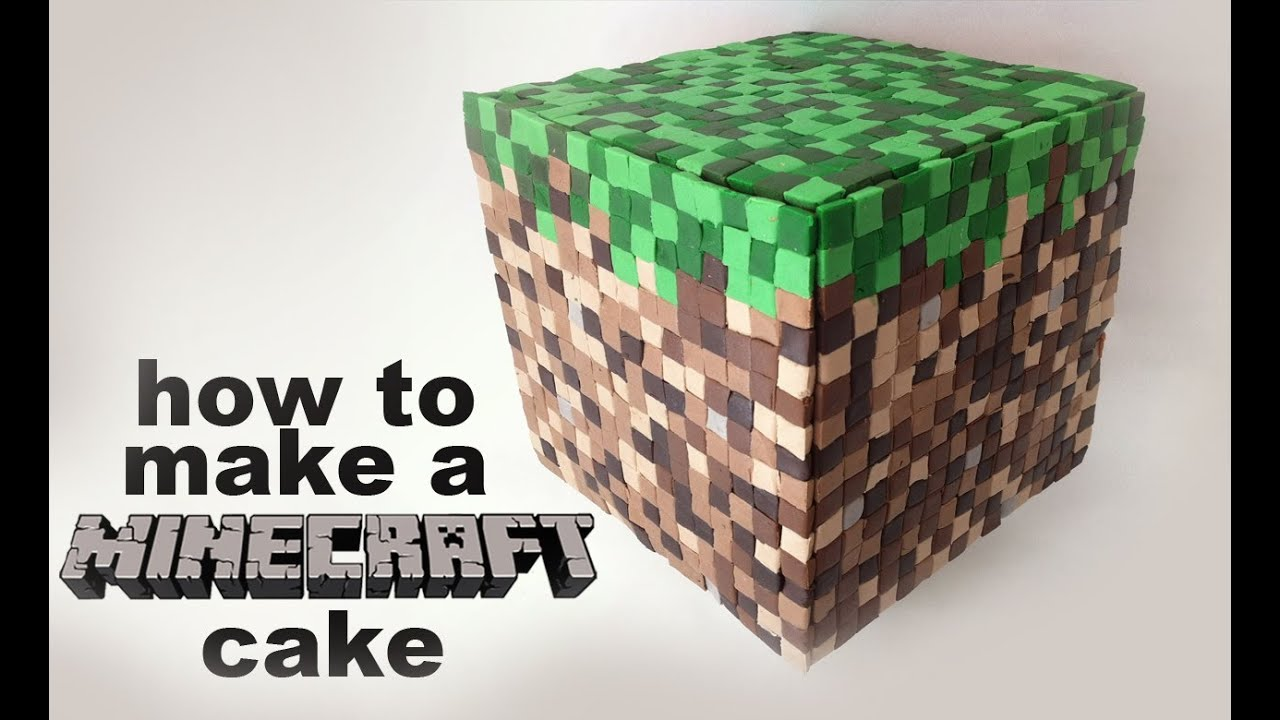 Minecraft Cake Recipe Tutorial D By Ann Reardon How To Cook That