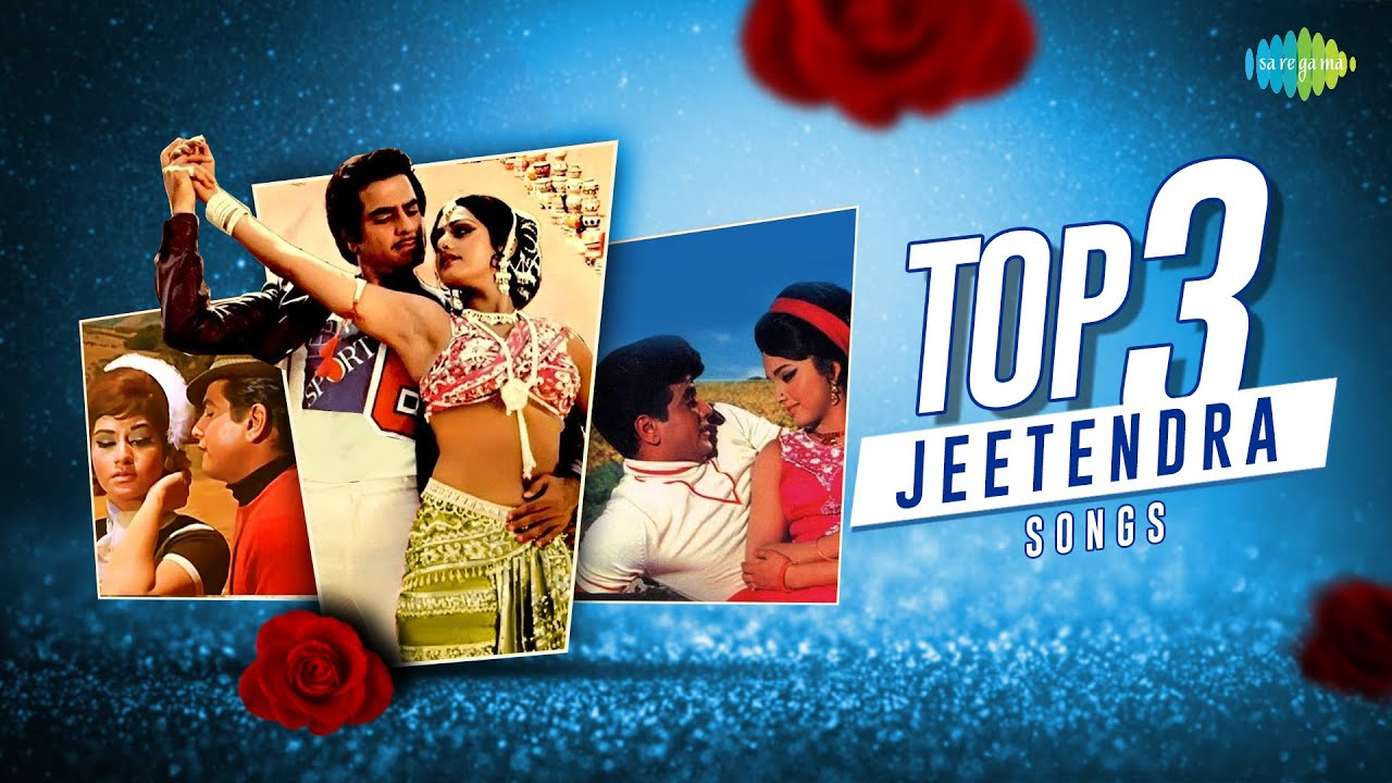 Top 3 Jeetendra Songs   Mast Baharon Ka Main Aashiq   Dhal Gaya Din Ho Gayi Sham   Nainon Men Sapna