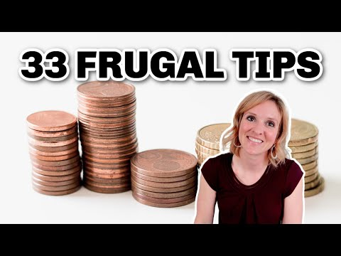 33 FRUGAL LIVING TIPS That Really Work | SAVE MONEY Hacks