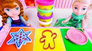 Ельза и Анна готовят праздничный ПИРОГ! Мультик #БАРБИ куклы Игрушки Для девочек