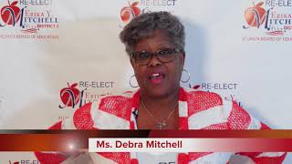 Re-Elect Erika Y. Mitchell For Atlanta School Board District 5, Supporter Ms. Debra Mitchell