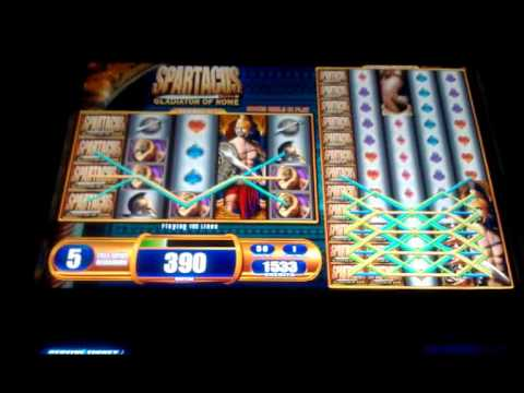 Spartacus Gladiator of Rome - Free WMS Colossal Reels Slot