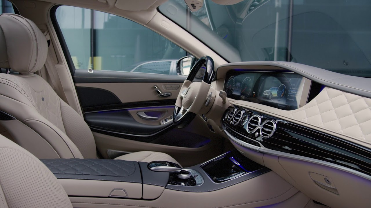 2018 mercedes maybach s650 interior