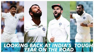 How India's tough year on the road unfolded