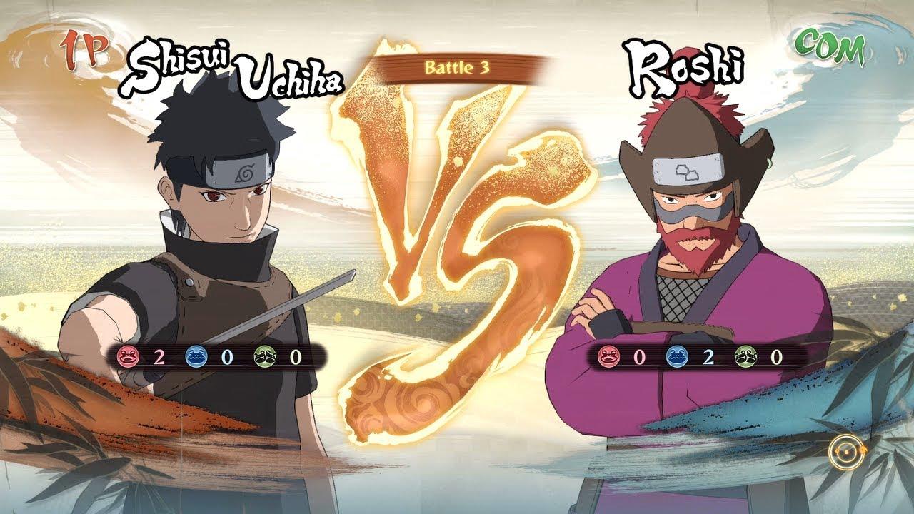 Naruto Shippuden Ultimate Ninja Storm 4 - Shisui vs Roshi ...