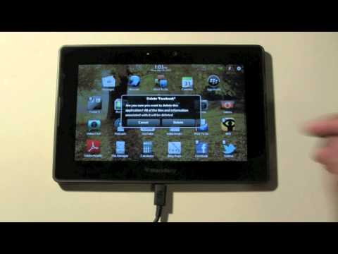 blackberry-playbook:-how-to-delete-an-app​​​-|-h2techvideos​​​