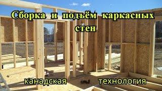 видео Дом каркасный 6х8