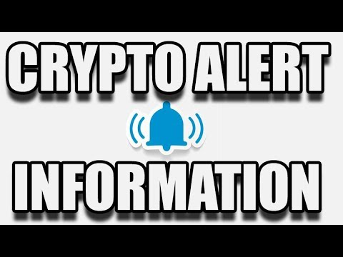Crypto Alert System Info 2/18/2018 by ChartGuys.com