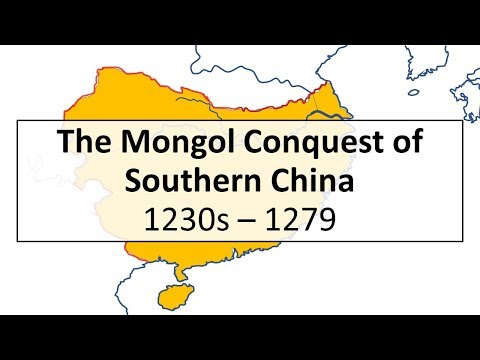 The Mongol Conquest of Song China, 1230s-1279