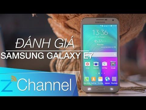 Đánh giá Samsung Galaxy E7: Mạnh mẽ, đủ dùng, giá hấp dẫn [TechZ]
