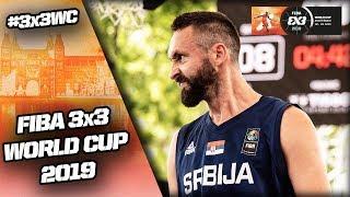 Netherlands v Serbia | Men's Full Game | FIBA 3x3 World Cup 2019